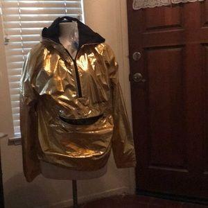 Adidas metallic gold WB